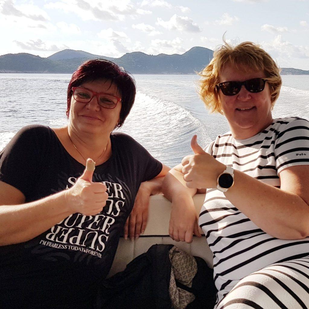 Veneilyä Adrianmerellä