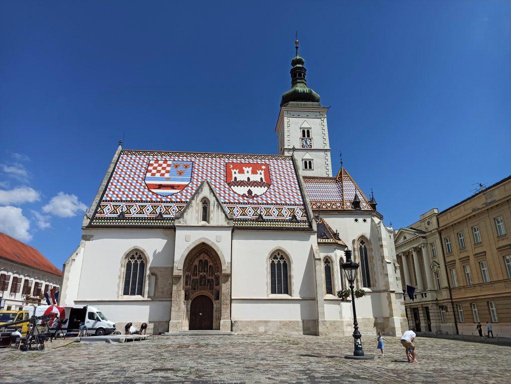 Zagreb Pyhän Markuksen kirkko