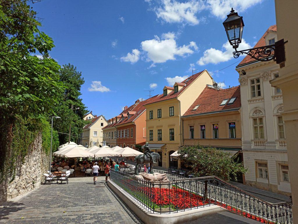 Zagreb vanhakaupunki