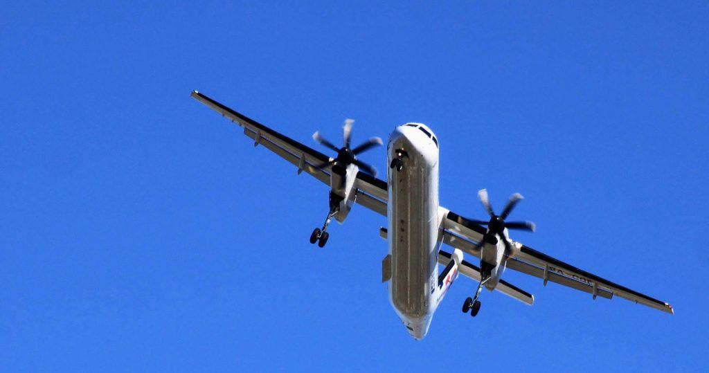 Lentokone laskeutuun Splitin kentälle Kroatiaan